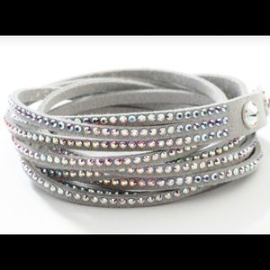 469962a0c Swarovski · aurore boreale wrap bracelet Touchstone Crystal. NWT